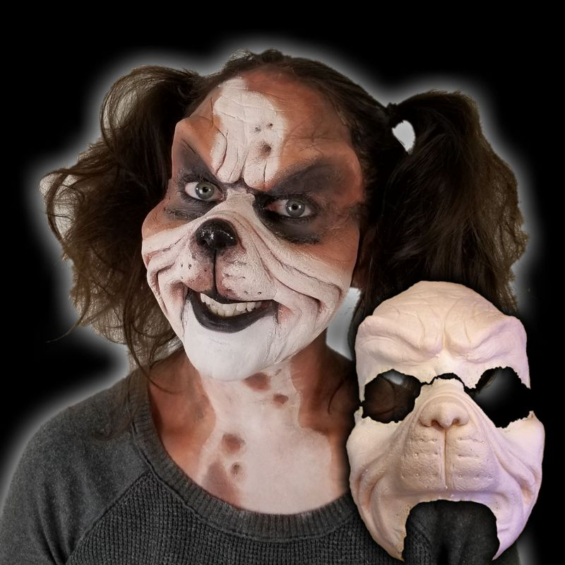 Lion makeup fx costume mask
